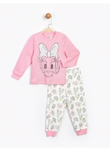 Minnie Mouse  Bebek Takım 16082 Pembe